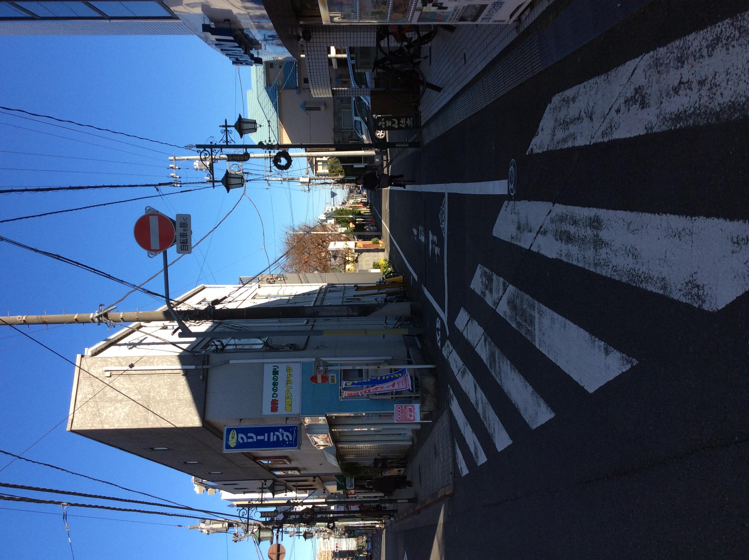 自転車の 自転車 交通ルール 歩道 右側 : 国立店の前の危険! 2015年12月18 ...