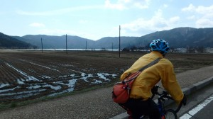 余呉湖サイクリング