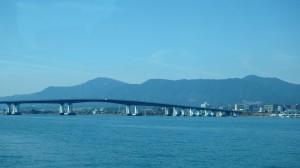 オーミマリン サイクルクルーズ 琵琶湖大橋