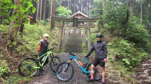 MTBライド「滝壺神社」