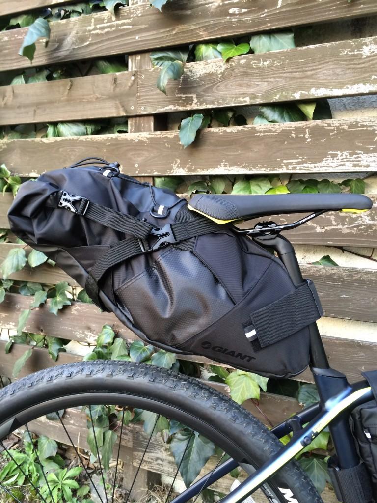 自転車の 自転車 フレームバッグ 大容量 : ... のスカウトシートバッグです